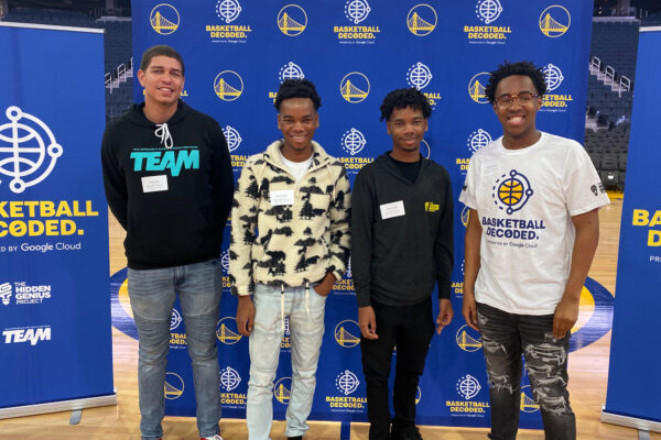 Partnered with Golden State Warriors and Google Cloud to introduce 100+ students to sports technology pathways