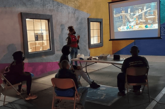 Partnered with local Oakland organizations and businesses to host game nights for young people.
